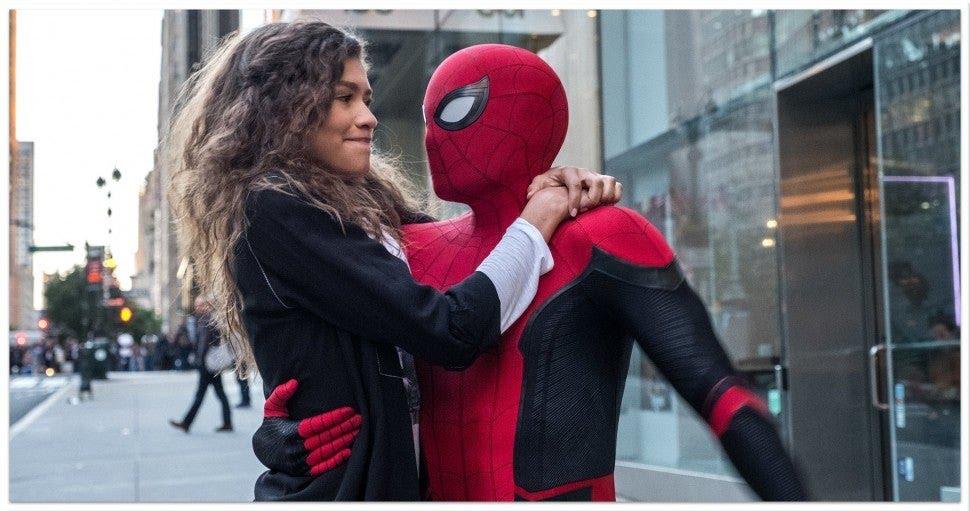 Spider-Man, Zendaya, Tom Holland